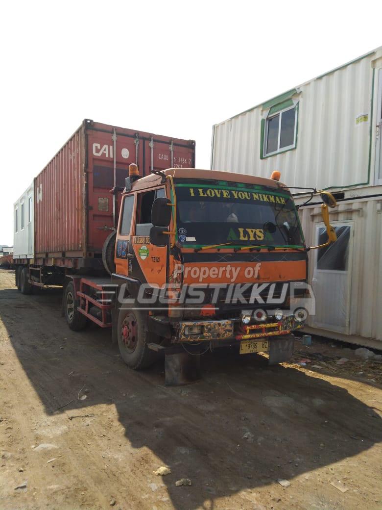 logistikku sewa truk trailer surabaya